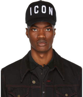 DSQUARED2 Black Icon Cap