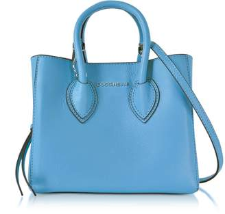 Coccinelle Farisa Pebbled Leather Mini Tote Bag
