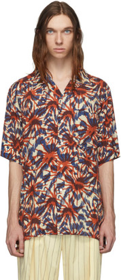 Hope Multicolor Print Camp Shirt
