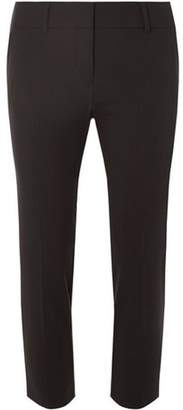 Dorothy Perkins Womens Petite Black Naples Ankle Grazer Trousers