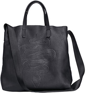 RK New York Embossed Snake Tote Bag