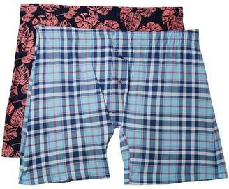 Tommy Bahama Printed Knit Boxer Brief Set Men's Underwear
