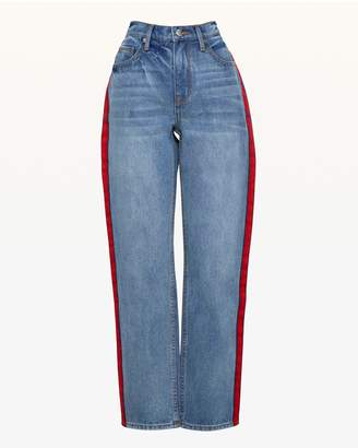 Juicy Couture JXJC Side Stripe Boyfriend Jean