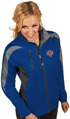 Antigua Women's New York Knicks Discover Full Zip Jacket