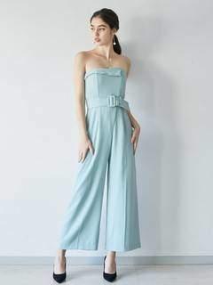 LAGUNAMOON (ラグナムーン) - LADYcollarベアパンツドレス