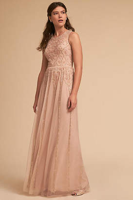Anthropologie Eliza Wedding Guest Dress
