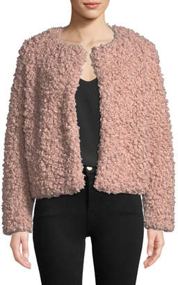Milly Curly Faux-Fur Jacket