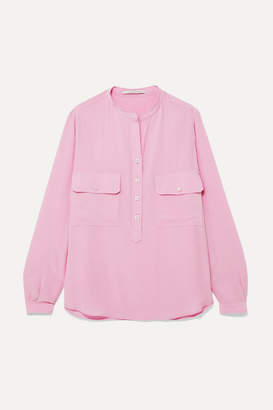 Stella McCartney Silk Crepe De Chine Blouse - Pink