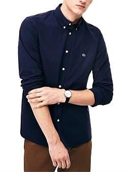 Lacoste Slim Fit Stretch Popelin Shirt