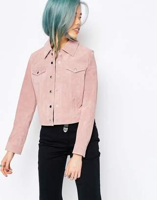 ASOS Western Jacket In Suede $136 thestylecure.com