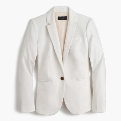 J.CrewPetite Campbell blazer in bi-stretch cotton