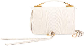 Stella McCartney Alter Snake Crossbody Flap Bag