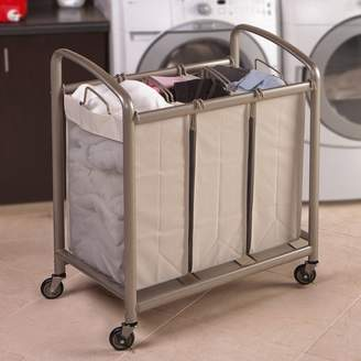 Laundry by Shelli Segal Rebrilliant Heavy Duty Laundry Hamper Sorter