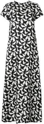 La DoubleJ bird print dress
