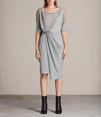 AllSaints Sina Shimmer Dress