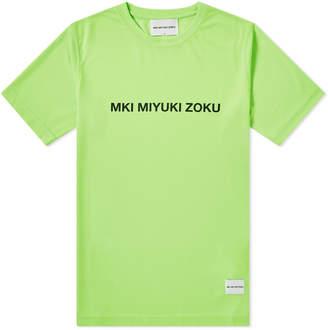 Mki MKI Neon Logo Tee