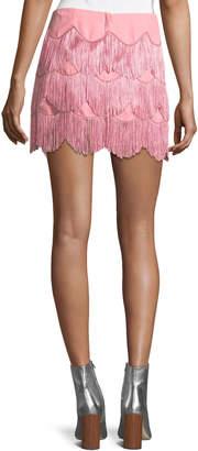 Marc Jacobs Mini Skirt with Fringe