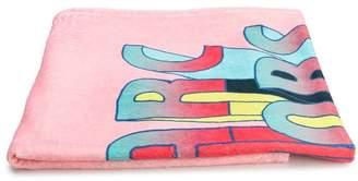 Little Marc Jacobs graphic logo print towel