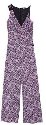 MANGO Paisley print jumpsuit
