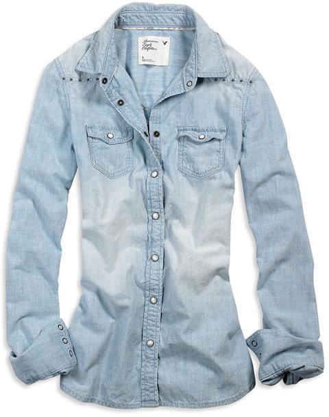 AE Chambray Western Shirt