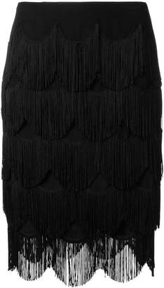 Marc Jacobs fringed skirt