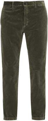 Massimo Alba Straight-leg velvet trousers