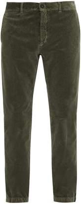 Massimo Alba Straight-leg velvet trousers