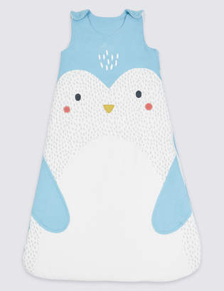 Marks and Spencer Pure Cotton Tog 2.1 Penguin Sleeping Bag