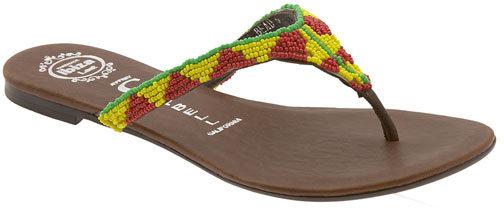 Jeffrey Campbell 'Magma Bead' Thong Sandal