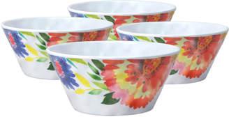 Kim Parker Set of 4 Melamine Cereal Bowls