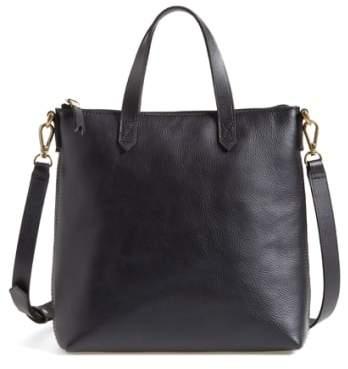 Madewell The Transport Leather Crossbody Bag - Black