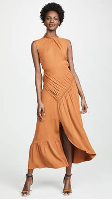 Self-Portrait Self Portrait Twist Neck Dress