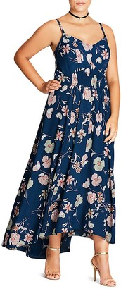 City Chic Naive Floral Maxi Dress $119 thestylecure.com