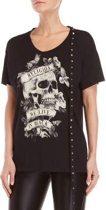 Religion Sensation Choker Neck Tee