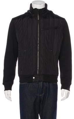 Ralph Lauren Black Label Quilted Fleece Jacket