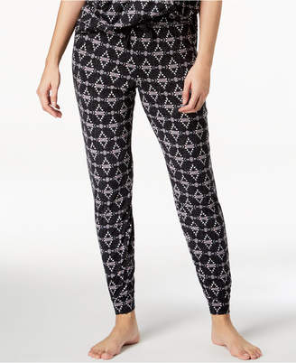 Lush Ande Luxe Printed Jogger Pajama Pants