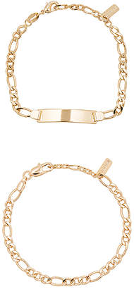 joolz by Martha Calvo ID Bracelet Set