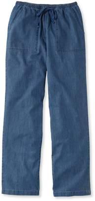 L.L. Bean L.L.Bean Original Sunwashed Pants, Denim