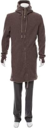 Boris Bidjan Saberi 2018 Wool-Blend Hooded Coat