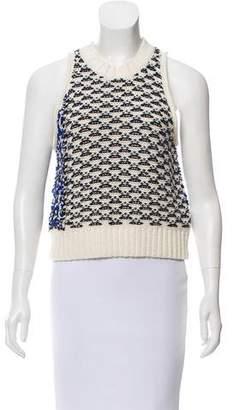 3.1 Phillip Lim Wool-Blend Crew Neck Sweater