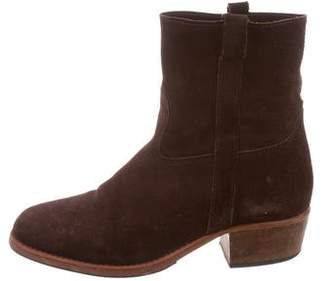 Jerome Dreyfuss Suede Ankle Boots