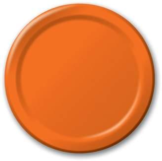 BuySeasons 48ct Dinner Plate - Orange