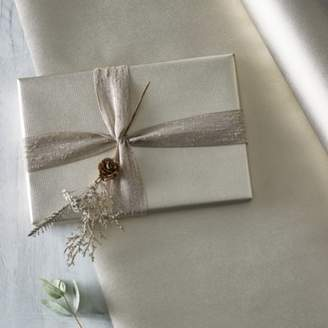 The White Company Champagne Kraft Wrapping Paper 10m