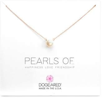 Dogeared Pearls of Happiness, Love, Friendship Necklace, 16""