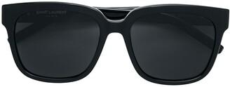 Saint Laurent Eyewear large square framed sunglasses