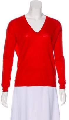 Theory Linen Long Sleeve Sweater