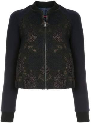Martin Grant jacquard bomber jacket