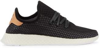 adidas Deerupt Black And Ecru Mesh Trainers