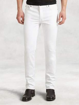 John Varvatos Woodward Cotton Canvas Jean