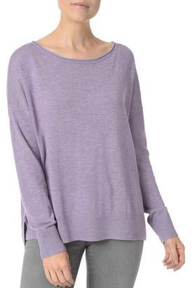 NYDJ Exposed Seam High/Low Sweater